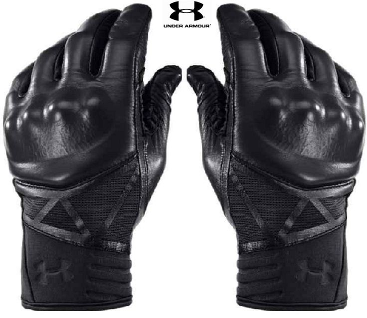 UNDER ARMOUR TACTICAL KNUCKLE GLOVES Fitted: Sits Close to Skin for a Streamlined Fit Without the Squeeze of Compression Real Sheepskin Leather for the Ideal Balance of Durability, Feel & Performance