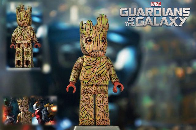 Lego Guardians Of The Galaxy Groot Lego Minifigure