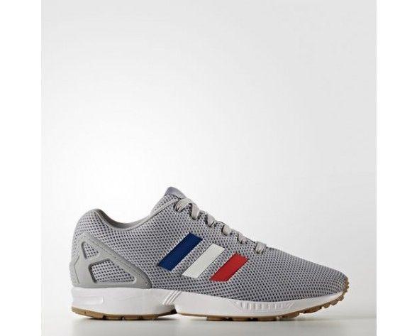 Adidas Originals ZX Flux Schoenen Mid GreyFootwear White