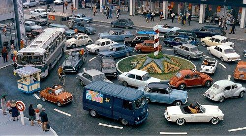 Photo Le manège des véhicules - Jacques Tati