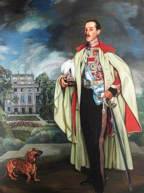 """Ignacio ZULOAGA, """"Retrato de Jacobo FitzJames-Stuart y Falcó Palafox Portocarrero y Osorio, XVIIº Duque de Alba de Tormes, G.E., Xº Duque de Berwick, Xº Duque de Liria y de Xérica, G.E. (1878-1953), Ministro de Estado y de Instrucción Pública, Embajador de España en Londres, Caballero Gran-Cruz de la Orden de Carlos III y de la Insigne Orden del Toisón de Oro""""; óleo sobre lienzo, 1918"""
