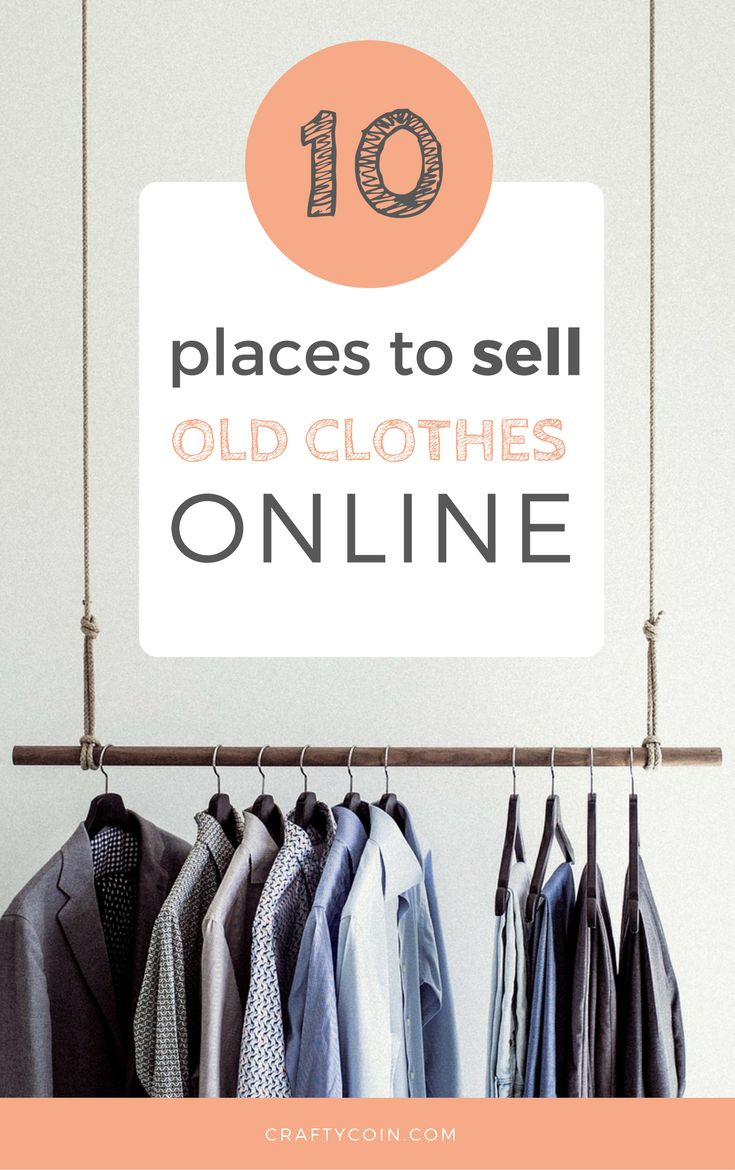 If you have a closet full of stuff that you never wear, why not make some extra cash? Here's a list of 10 great places to sell old clothes online. I've made great money using #1 and #4!
