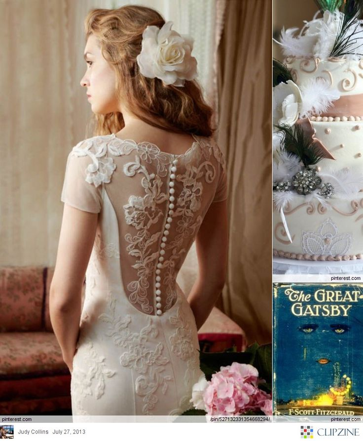 Great Gatsby Weddings, this dress is absolutely beautiful