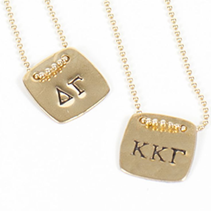 388 best kappa alpha theta images on pinterest big for Sorority necklaces letters