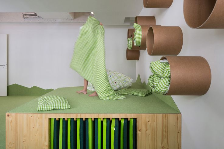Kita loftschloss nach dem umbau raumideen kindergarten for Raumgestaltung tagesmutter