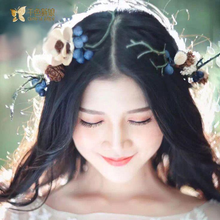 Купить товарМилая Девушка лента для волос искусственный цветок украшения…