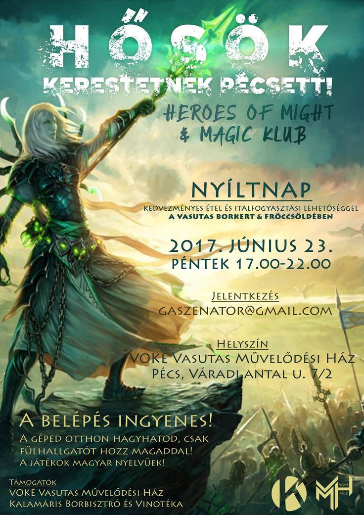 Heroes of Might & Magic Klub Nyílt Nap