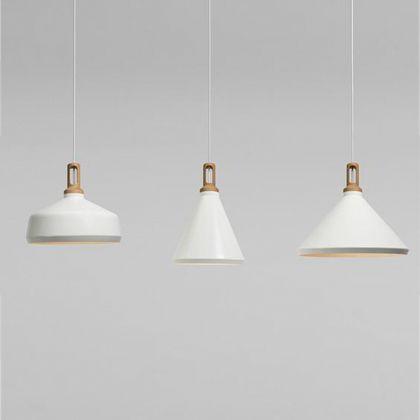 Modern Pendant Light With Wooden Pendant Lighting Aluminium Metal .