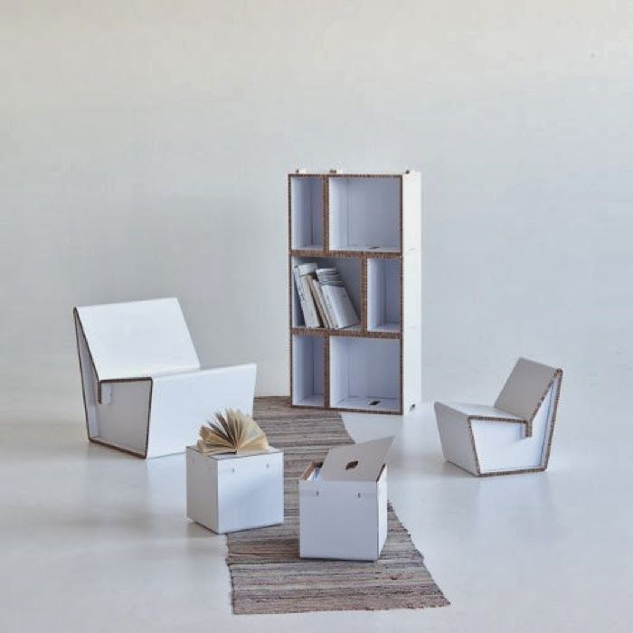 Great Cardboard Furniture From Jarvi Ruoho //download Www.RoomHints.com/app Images
