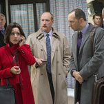 "Veep: 'Veep' Season 5, Episode 4: The Death Bump  Much like in Season 3's ""Crate,"" elation and sadness smack into each other, turning Selina into a bundle of uncontrollable, hysterical feeling.  http://www.nytimes.com/2016/05/15/arts/television/veep-season-5-episode-4-recap.html?partner=rss&emc=rss"