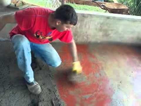 Como fazer um piso cimentado, Alisado, Queimado, Colorido - Página 2 de 2 - FazFácil
