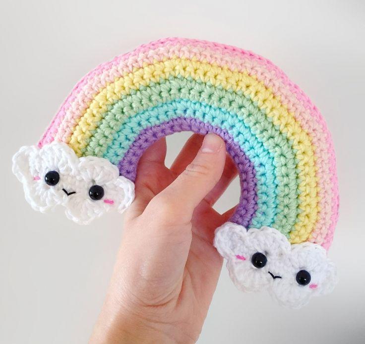 Happy Rainbow Amigurumi Pattern