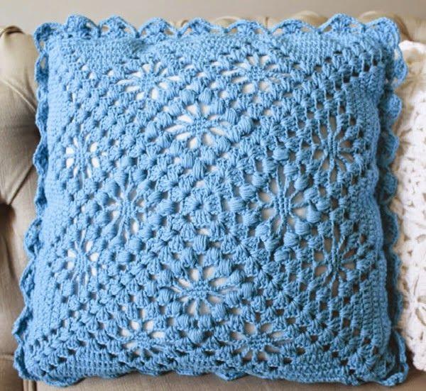 Almofada de Crochê Fácil com Gráfico | Josy Queiroz
