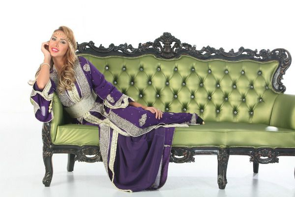 جلابيات مغربية 2013 من تشكيلة القفطان المغربي من سلمى بنعمر - Moroccan Caftan by Selma Benomar #جلابيات-مغربية #جويل-مردينيان