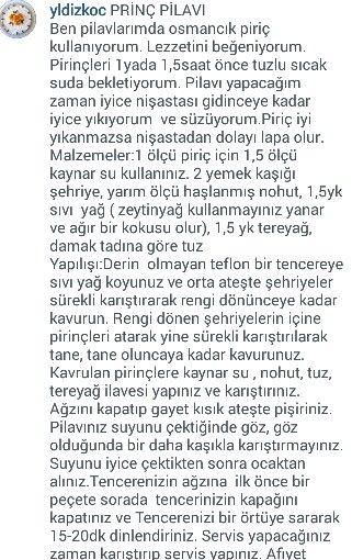 PİRİNÇ PİLAVI