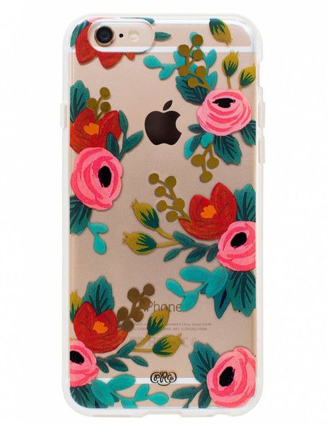 Rosa iPhone 6 Case - Carry spring with you always.