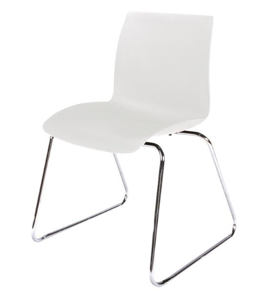 The Case Stack Chair Sled  is a versatile casual seating solution, built tough to last and light enough to easily stack away# #seated #design #chair #visitor