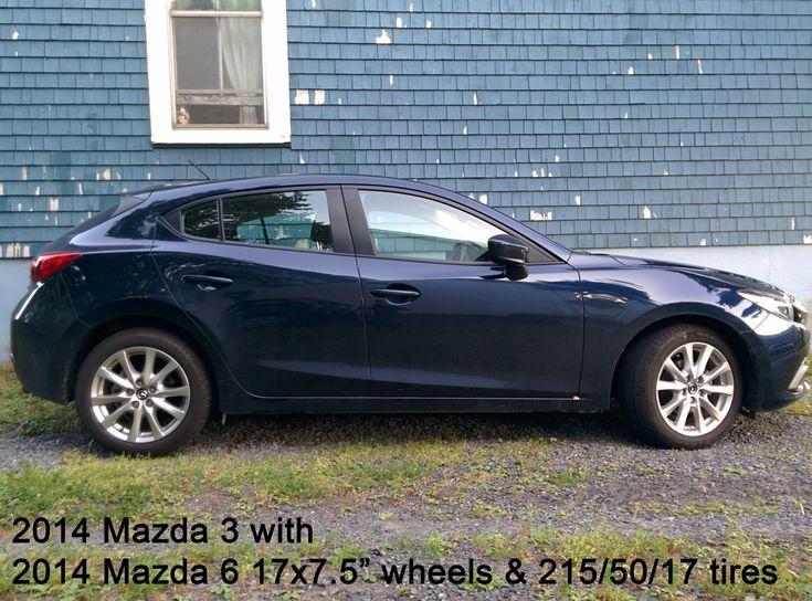 "Mazda 6 2014: 17x7.5 +50 Found A 17"" (OEM) Wheel Option ... 2014 Mazda 3 Wheel Specs"
