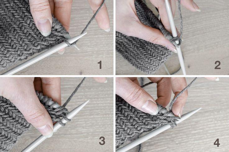 DIY   Anleitung Fischgrätmuster stricken und warum man nie genug Topflappen haben kann! – mxliving