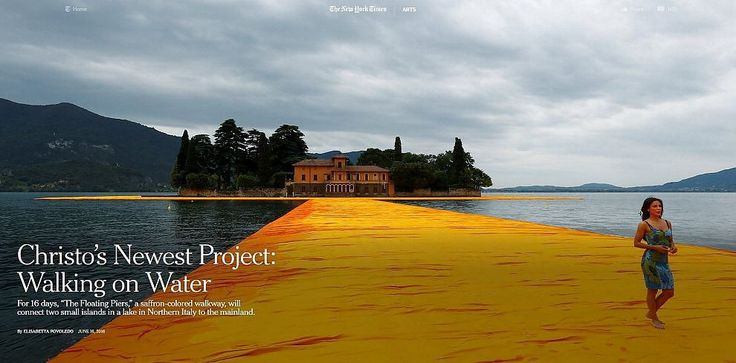 I sedici giorni di 'The Floating Piers': best moments