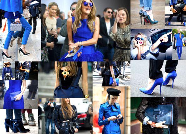 ¡Piensa en AZUL! – Shopping TENDENCIAS | Glam España #blue #sapphire #colortrend #designintution #colbalt