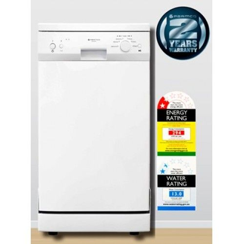 $599 (was $725) Parmco PD45-SLIM-W slim dishwasher @ Appliance Smart - Bargain Bro