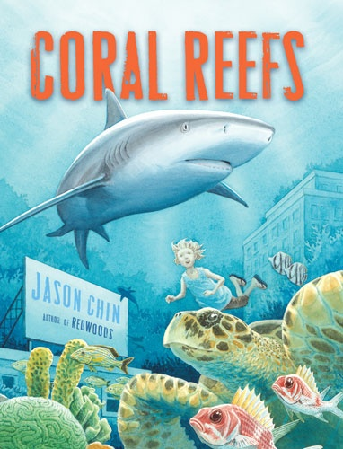 63 best cool ocean books for kids images on pinterest kid books girl gets quite a surprise when the text of a library book she is reading transforms her surroundings into those of a teeming with life coral reef fandeluxe Images