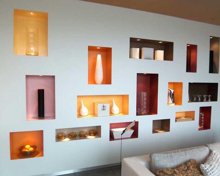 Modern Display Wall Display Display Shelves