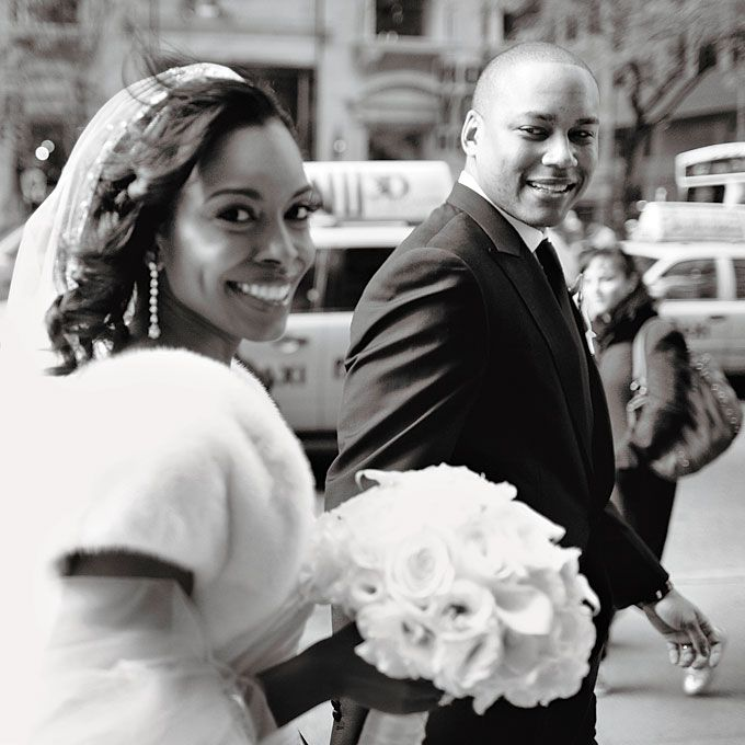 Nyssa & Chris in Manhattan, NY. Click through to see the rest of their wedding day. Carlos Andrés Varela Photography.