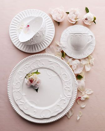 """20-Piece """"Estate"""" #Dinnerware Service at #Horchow #Tabletop #Home"""