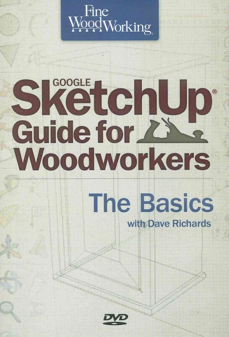 Fine Woodworking Google SketchUp for Woodworkers: The Basics (DVD-ROM)…