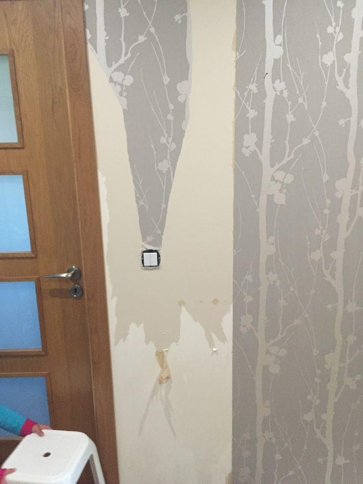 Shop and Tell: Tirar papel de parede; how to remove wallpaper