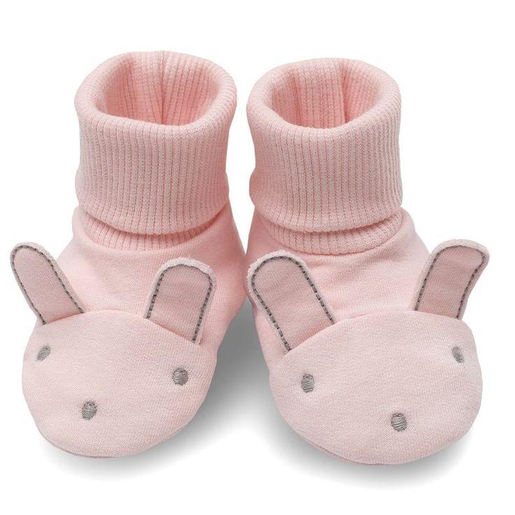 • Buciki niemowlęce dla dziewczynki z Kolekcji Colette w kolorze różowe - Ubranka dla niemowląt - Sklep Polskie Dzieci