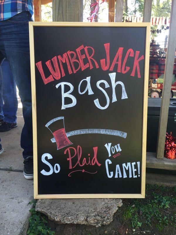 Lumber Jack Birthday! www.gatheringeventscompany.com/birthday