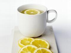 Heet citroenwater