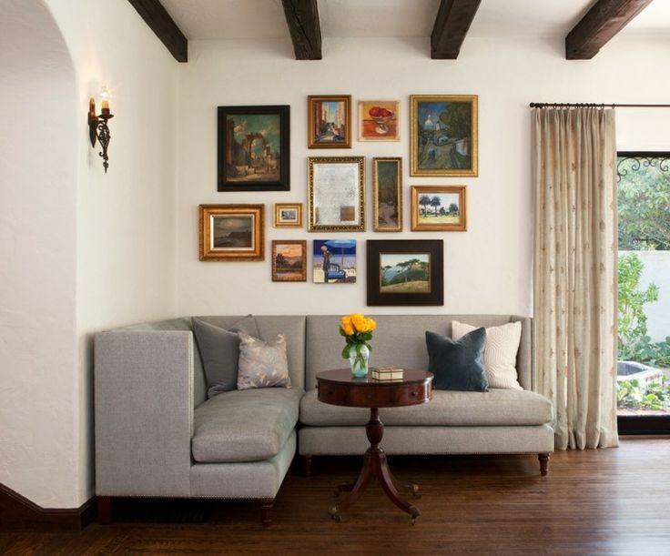 Die besten 25+ Small l shaped couch Ideen auf Pinterest kleines - kleine wohnzimmer modern