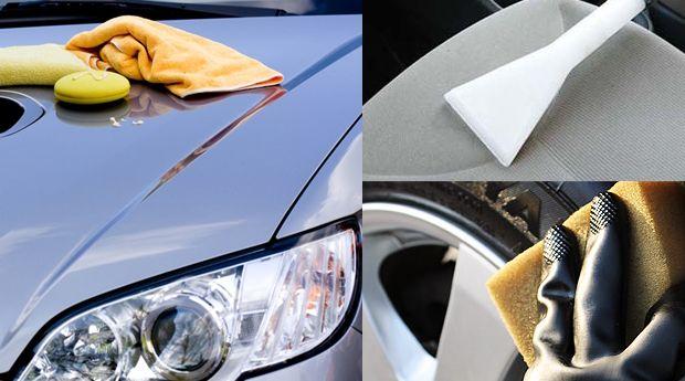 Trata bem o teu veículo e põe-no a brilhar com esta fantástica promoção de limpeza completa com estofos.  A lavagem exterior do seu veículo é imprescindível. Uma lavagem bem-feita garante o carro limpo brilhante e sem riscos. Depois de efectuada a pré-lavagem usamos o nosso produto de lavagem aplicado manualmente sobre a carroçaria. Este produto de pH equilibrado garante um ótimo poder de limpeza e acabamento melhorando a aparência e a proteção do automóvel. A nossa cera líquida é aplicada…