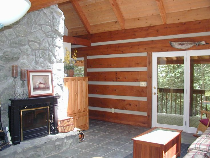 Boone cabin rental - Wood burning fireplace-wood provided!! WOW a cabin that provides firewood!!!