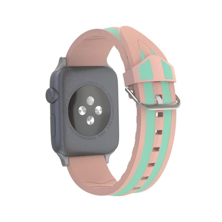 38mm Apple Watch Band, Classic and Sport Style, Unpara Silicone [Waterproof] [Scratch Resistant] [Breathable] Bracelet IWatch Strap Band For For Apple Watch Bands Series 3 /2 /1 for Sports (Pink). Compatible for Apple Watch Series1/2/3 38MM. Watch Band comes with connector on both ends, which locks onto Apple Watch Band Interface precisely and securely. Secure while running, dancing or working out.Allows easy access to all buttons, controls and ports without having to remove the skin....