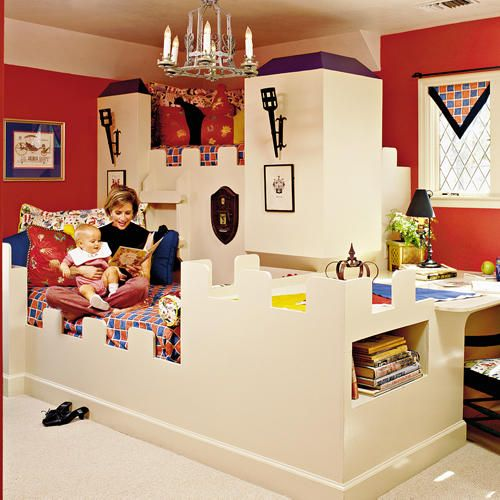 Castle Motif Childrensu0027 Bed Very Cute. Boys Room DesignGirl Bedroom ...