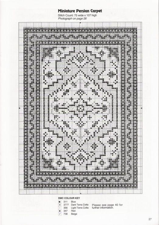 Gallery.ru / Photo # 3 - Miniature Cross Stitch-Needlepoint - natalytretyak