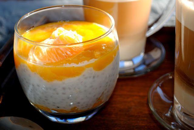 Klimaty Agness: Niedzielne śniadania - pudding z nasionami chia