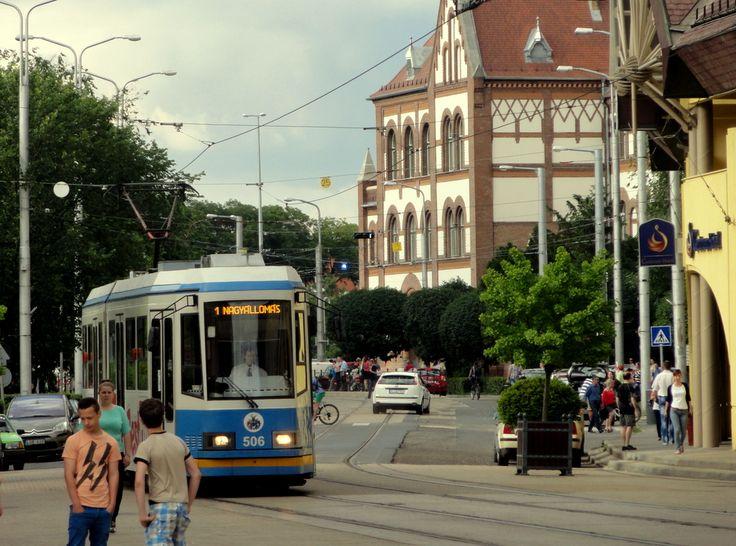 Debrecen city centre