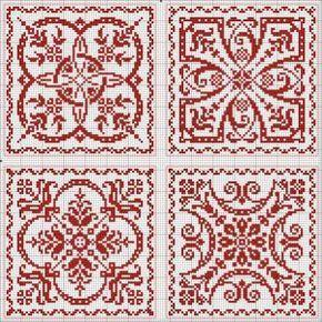 Four tiles Más