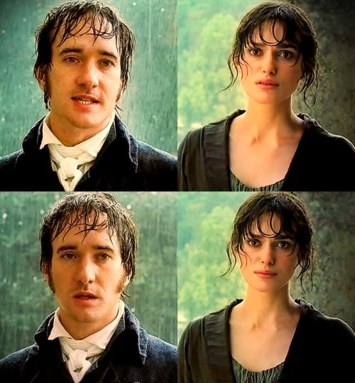 """""""He's rather heartbreaking, Darcy. They say Darcy is haughty and arrogant, but that comes from vulnerability, from thinking very deeply about things and not being able to be relaxed. In those days Mr. and Mrs. Bennet were totally naff, and nowadays they think, oh what a snob, but in those days he wasn't being a snob. He was being honourable"""". (Matthew Macfadyen)"""