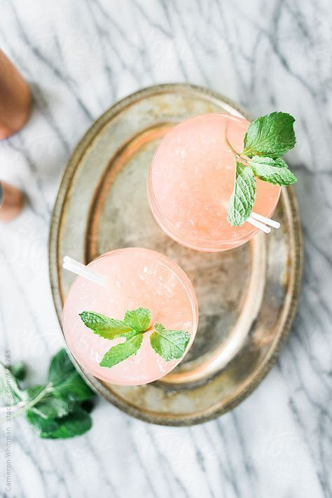Watermelon Mojito Cocktails!