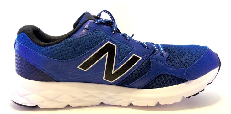 New Balance Men's Navy/Black/White Lightweight Running Trainers  Size 12 #NewBalance #AthleticSneakers