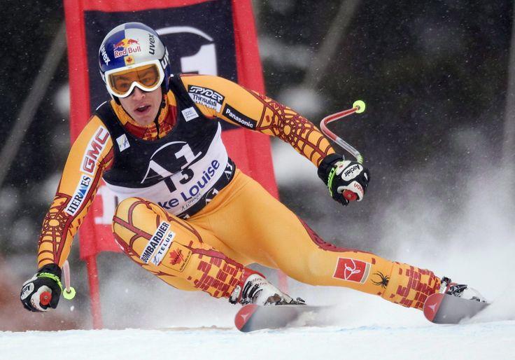 Erik Guay Canadian Alpine Team for Olympics in Sochi 2014
