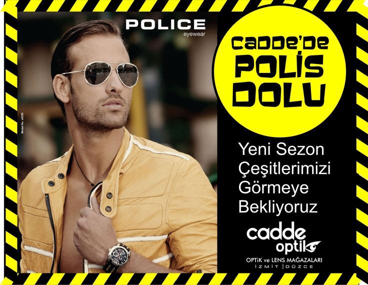Cadde'de Polis Dolu...