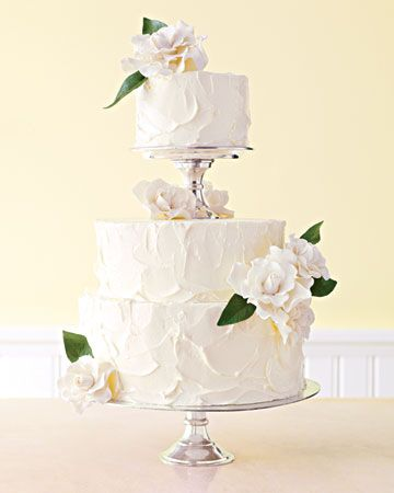 floral-tiered-wedding-cake, rustic but elegant